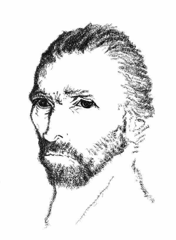 Psalm 113 Vincent van Gogh portrait