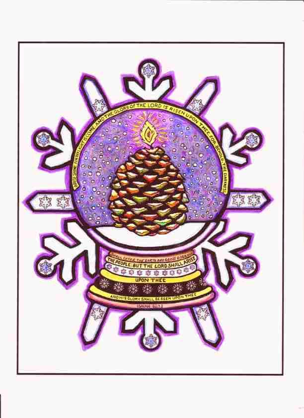 Snow Globe Snowflake – Isaiah 60:1-2