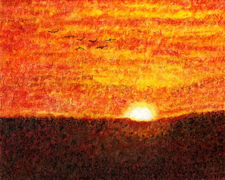 Genesis Dalet Sunset by Judy Rey Wasseramn
