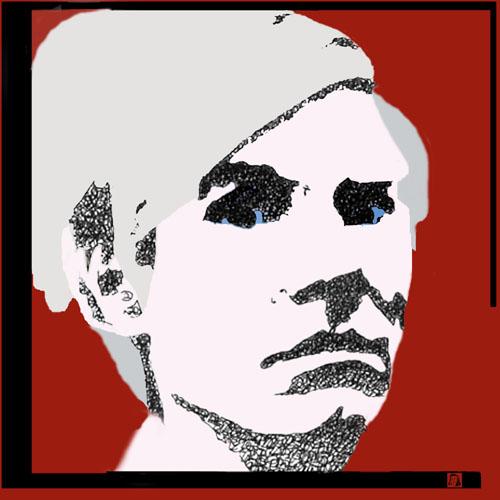 Andy Warhol Double Denied by Judy Rey Wasserman