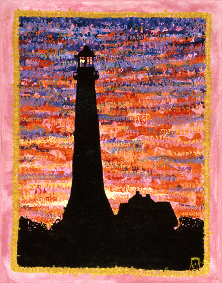 Montauk Lighthouse by Judy Rey Wasserman