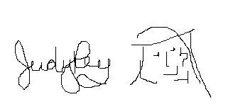 Judy Rey signature