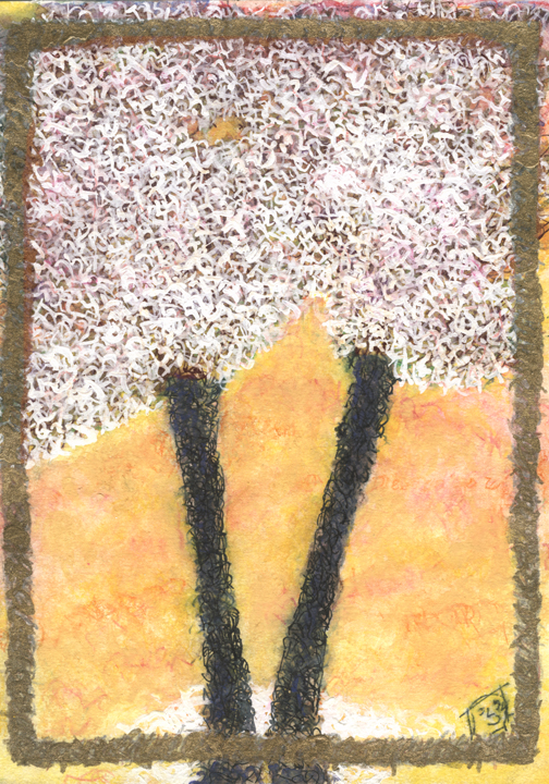 Spring Shema Tree by Judy Rey Wasserman